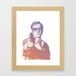 Michael Caine Framed Art Print