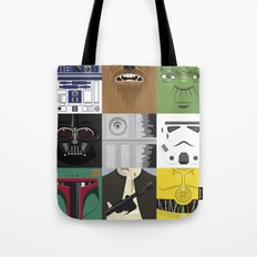 Starwars combo Tote Bag