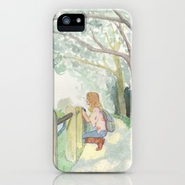 English Park III iPhone Case