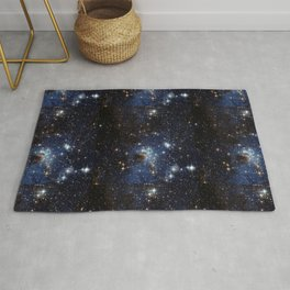 LH 95 in the Large Magellanic Cloud Rug