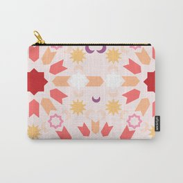 Summer Arabesque Carry-All Pouch