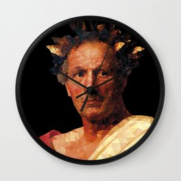 Historical Figures - Julius Caesar Wall Clock