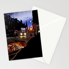 Nightbus to Hell Stationery Cards