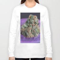 medical Long Sleeve T-shirts featuring Jenny's Kush Medical Marijuana by BudProducts.us