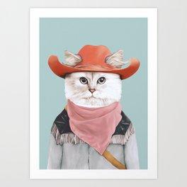 Rodeo Cat Kunstdrucke