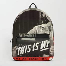 This Is My Fight Backpack