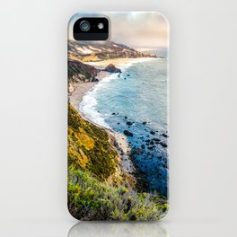 Big Sur First Light iPhone Case