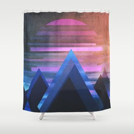 Fractions B08 Shower Curtain