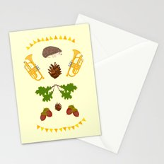 Igelkotta kalaset Stationery Cards