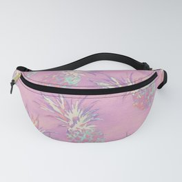 Pink Pineapple Pattern Fanny Pack