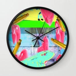 vacation vendetta Wall Clock