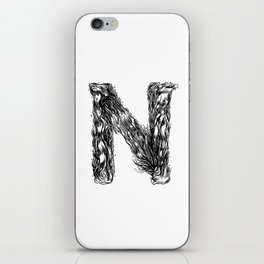 The Illustrated N iPhone Skin
