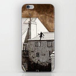 cat burglar iPhone Skin