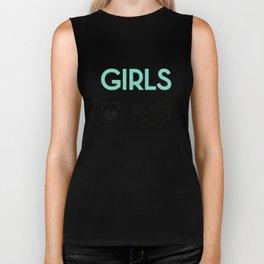 GIRLS Biker Tank