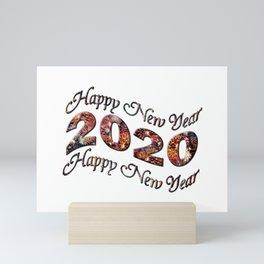 Happy New Year 2020 Mini Art Print