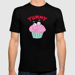Yummy Zombie Brain Cupcake T-shirt