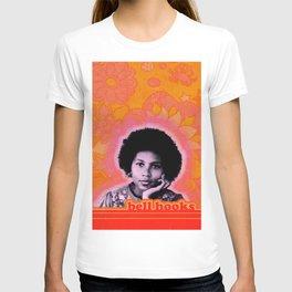bell hooks retro print T-shirt