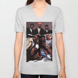 Asap Mob Cozy A AP Rocky Ferg Nast album cover celebrity art canvas poster high quality printing in various sizes Unisex V-Neck
