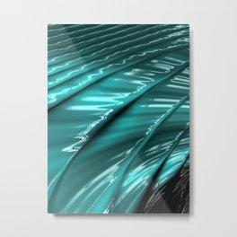 Lapping - Fractal Art Metal Print