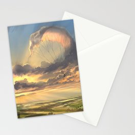 made of air Stationery Cards