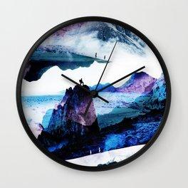 Neptune Hike Wall Clock