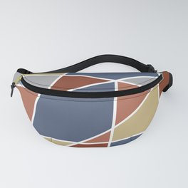 Cool Stained Tiles Fanny Pack