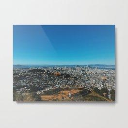 Twin Peak Views Metal Print