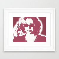 river song Framed Art Prints featuring River Song  by Laura