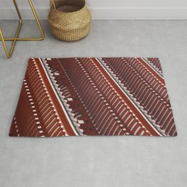 Pagoda roof pattern Rug