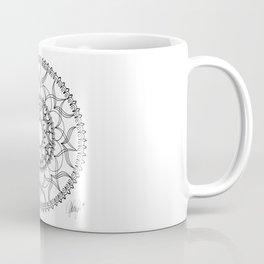 Dove Black and White Coffee Mug