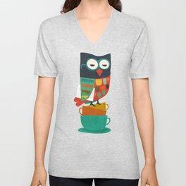 Morning Owl Unisex V-Neck