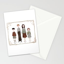 The Pevensies Stationery Cards