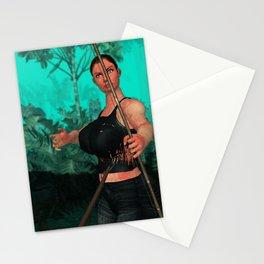Survivor shot Stationery Cards