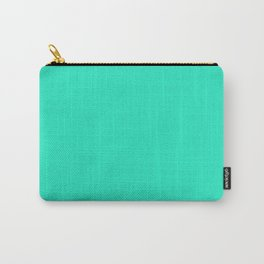 Ocean Teal Carry-All Pouch
