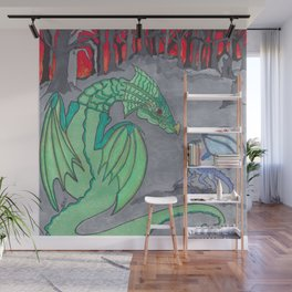 Ashes and Dragons Wall Mural