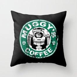 Muggy's Coffee Throw Pillow