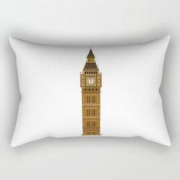 Big Ben Isolated Rectangular Pillow