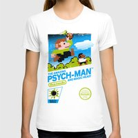 psych T-shirts featuring The Amazing Psych-Man and Magic Head! by girardin27