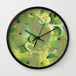 Fine Art of The Sense of Green Life! Wall Clock