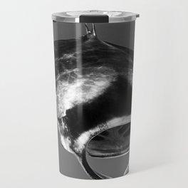 Manta Ray Black & White Travel Mug