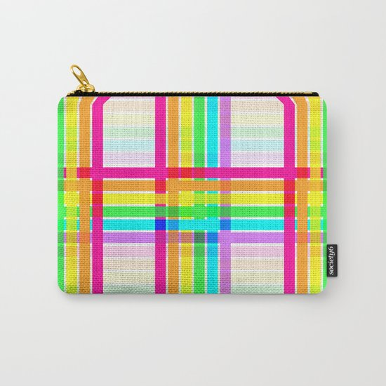 Weaved Rainbow Carry-All Pouch