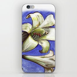 Easter Lily iPhone Skin