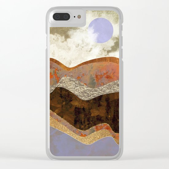 Lavender Hills Clear iPhone Case