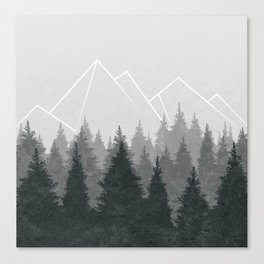 Fading Forests Canvas Print