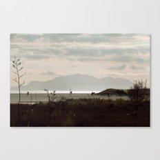 First Surf 2 Canvas Print