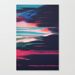 Glitched v.5 Canvas Print