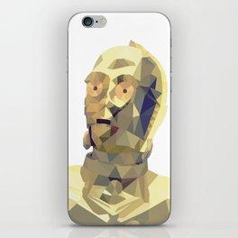 C3po Poly Art iPhone Skin