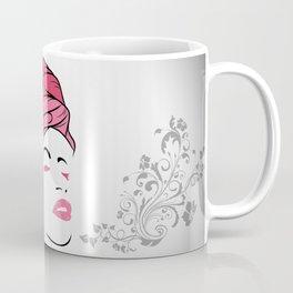 Lady Wrap (pink) Coffee Mug
