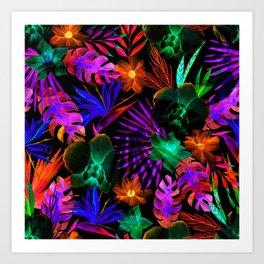 unique florals ii Art Print