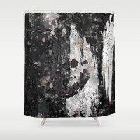 splash Shower Curtains featuring Splash by Keagraphics